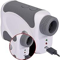 WOSPORTS Rechargeable Slope Golf Rangefinder, H-111 800 Yards USB Charging Laser Range Finder Support Flag Lock Vibration,Continuous Scan,Distance Speed Measurement