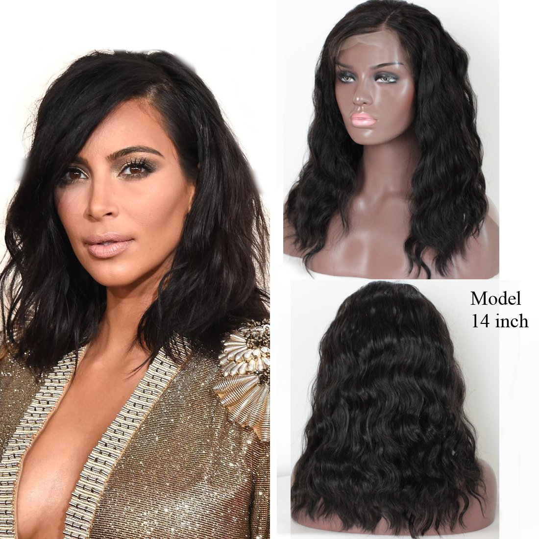 Amazon.com : ZANA Brazilian Virgin Hair Lace