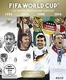 FIFA WORLD CUP 54 * 74 * 90 * 14 - Die offiziellen Filme der Turniere / Alle deutschen Finalsiege + Bonusfilm Match 64 (Highlights des WM-Finales 2014) [Blu-ray]