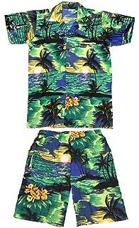 Mens Hawaiian Stag Beach Hawaii Aloha Party Casual Summer Holiday Fancy Shorts