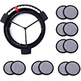 Replacement Coffee Maker Water Filtration Set Filter Disk with Frame for Mr. Coffee Brewers Coffee Maker (1Disk Frame…
