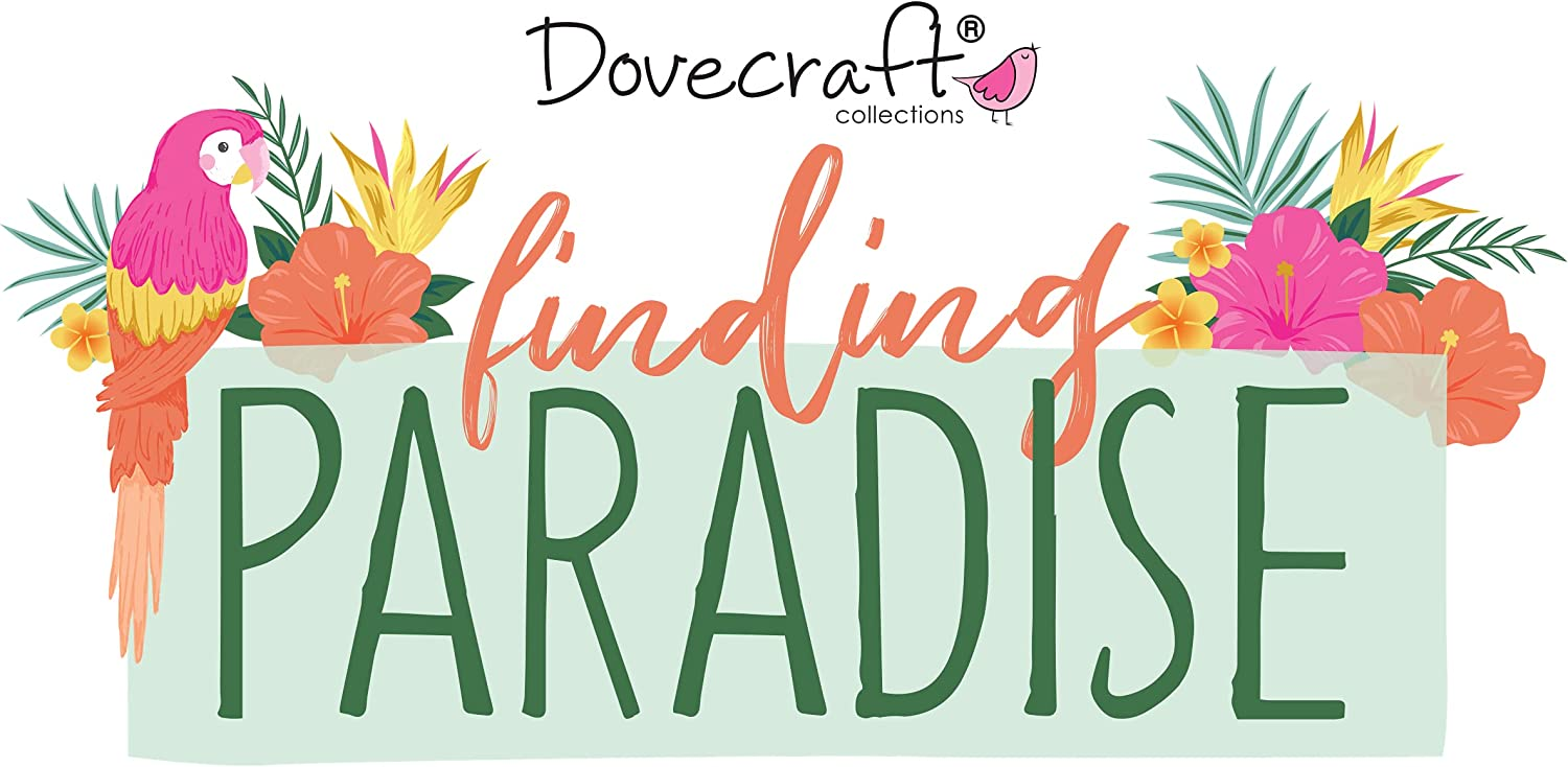 Dovecraft Finding Paradise Clear Stamps One Size Multi