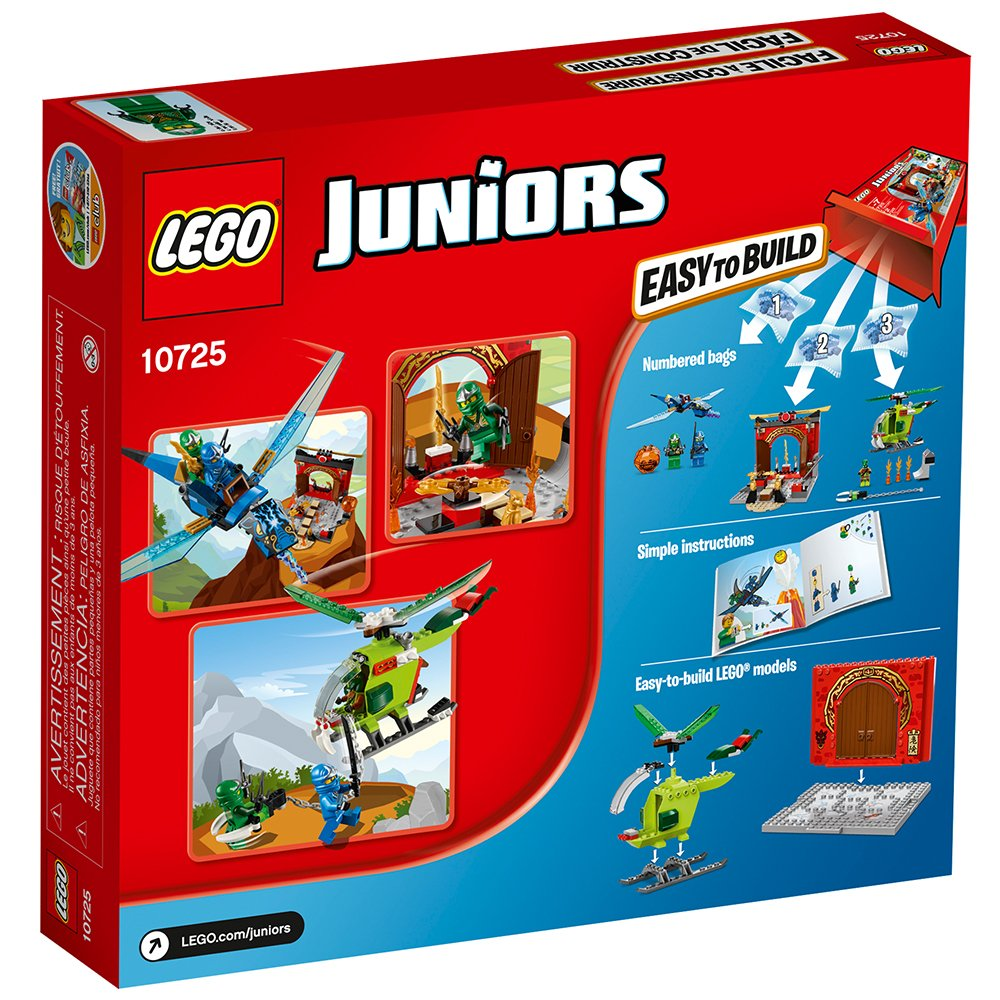 Amazon Lego Juniors Lost Temple 10725 Toy For 4 Year Olds Toys