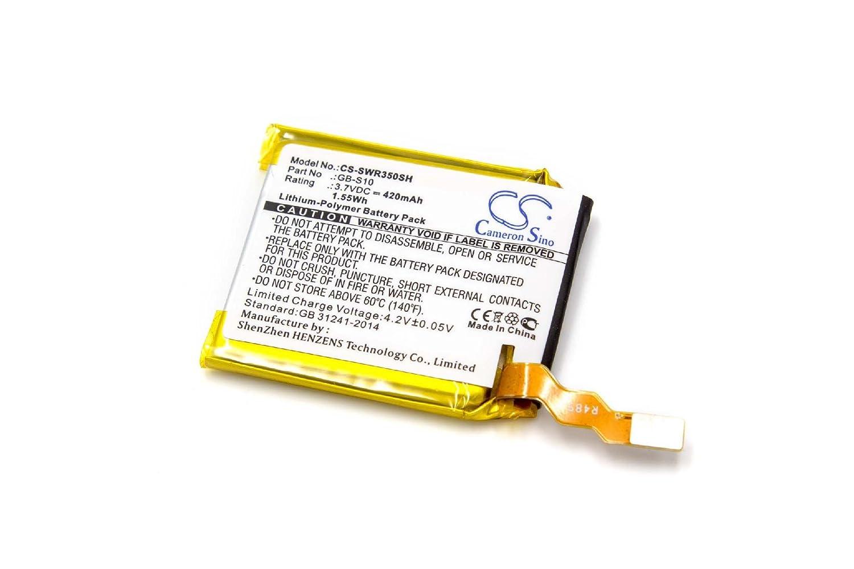 vhbw litio-polimeri batteria 420mAh (3.7V) per smartwatch orologio braccialetto fitness Sony SWR50 VHBW4251476792043