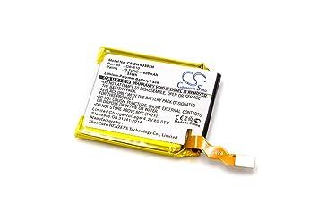 vhbw Litio polímero batería 420mAh (3.7V) para smartwatch ...