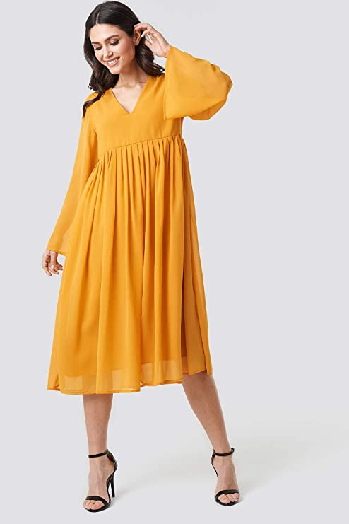 sommerkleid-gelb