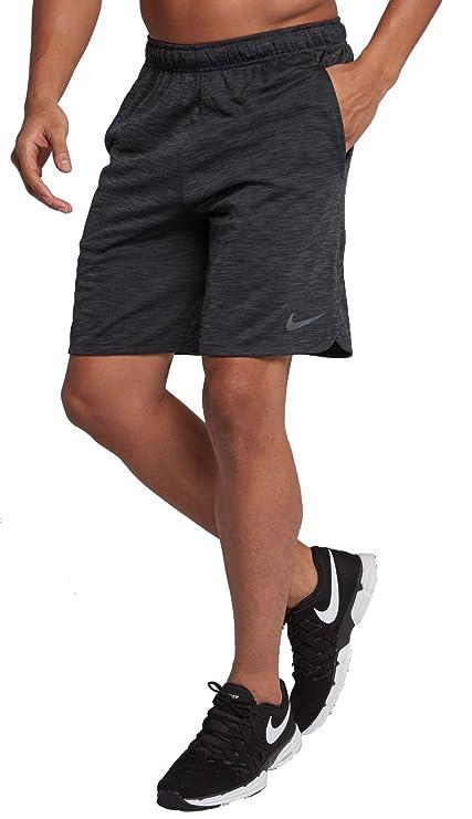 46c96d2b588f4 Amazon.com : Nike Men's Dry Veneer Training Shorts (Black/MTLC ...