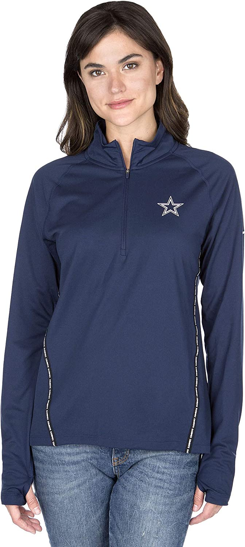Dallas Cowboys NFL womens Nike Core Half-zip Pullover