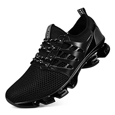 Biacolum Mens Sneakers Lightweight Breathable Athletic Gym Running Shoes for Men | Road Running