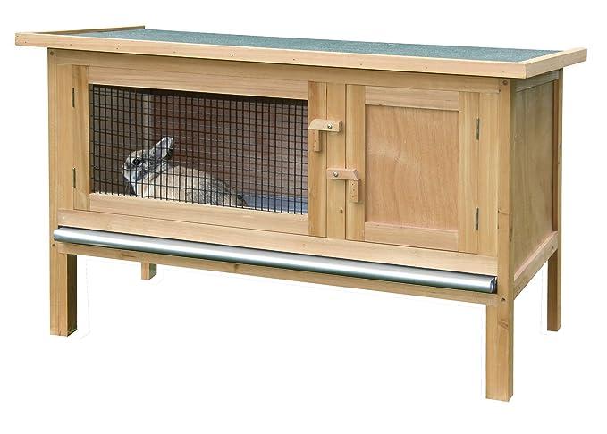 Conejera FRED 100 x 45 x 62 cm: Amazon.es: Productos para mascotas