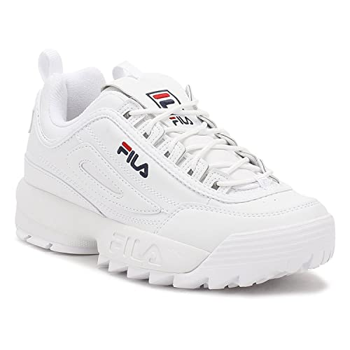 Basket Disruptor II 2 Mujer Low Baskets Zapatillas,Casual Shoes Fitness Sports Running Sneaker Blanco