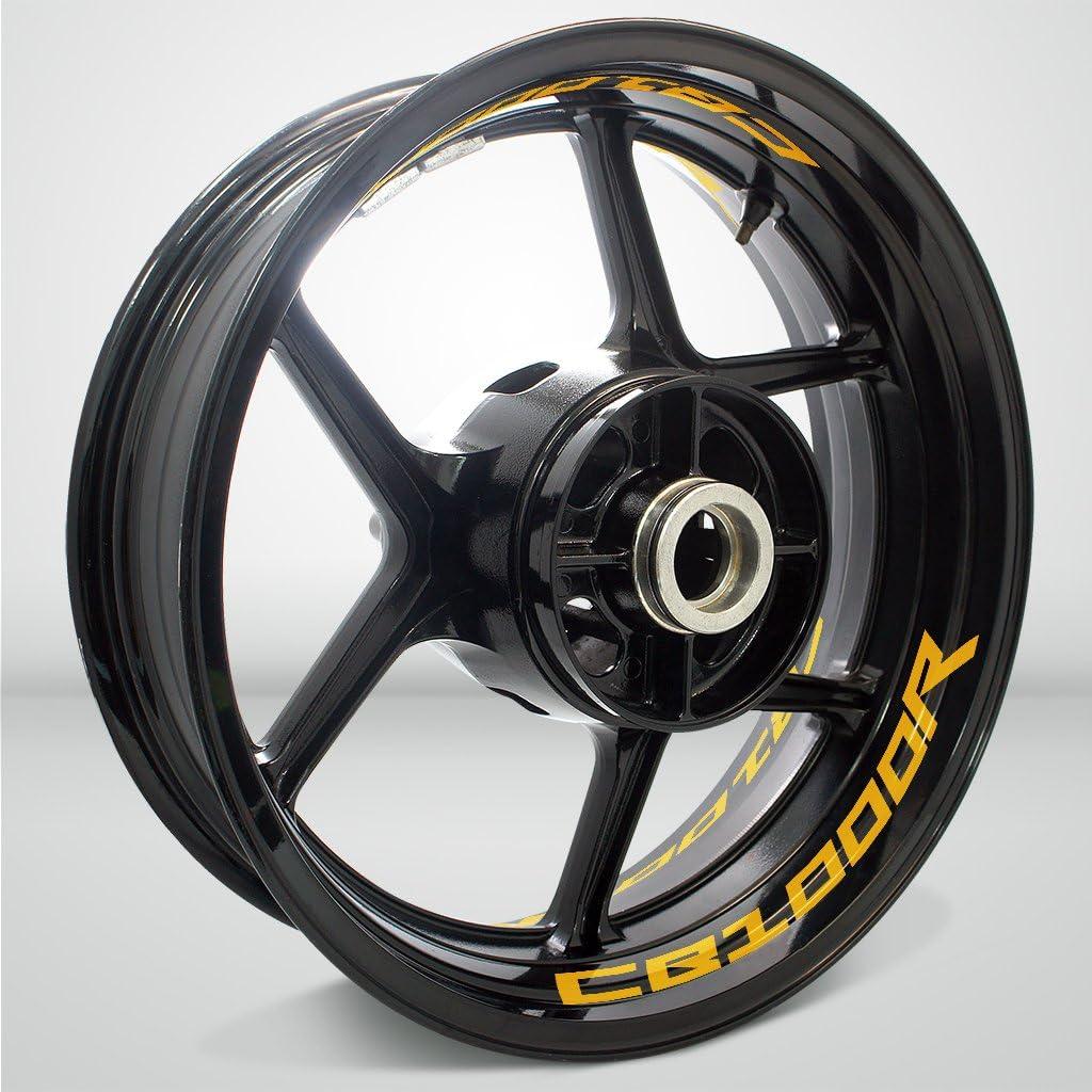 2 Tons Am/éthyste Autocollant de Jante de Moto Inner Rim Tape pour Honda CB 1000R