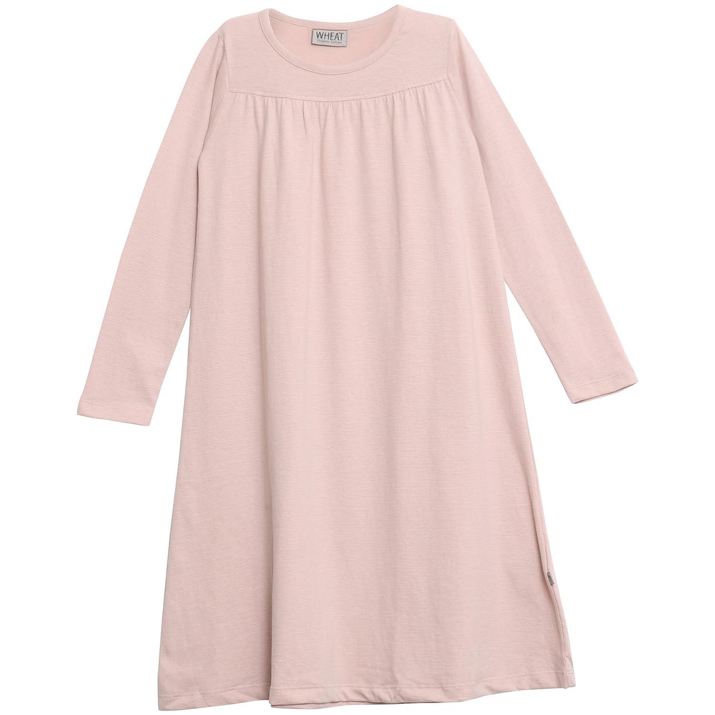Wheat Nightgown Yoke Ls, Haut de Pyjama Fille