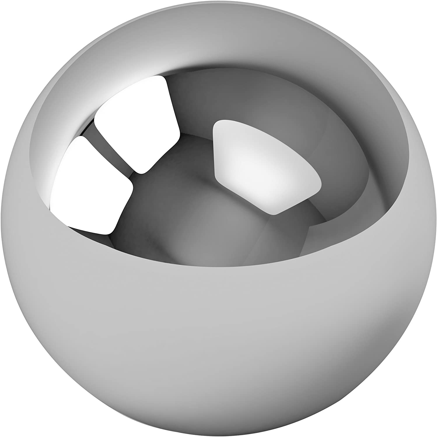 """Five 1-1//2/"""" Inch G25 Precision 440 Stainless Steel Bearing Balls"""