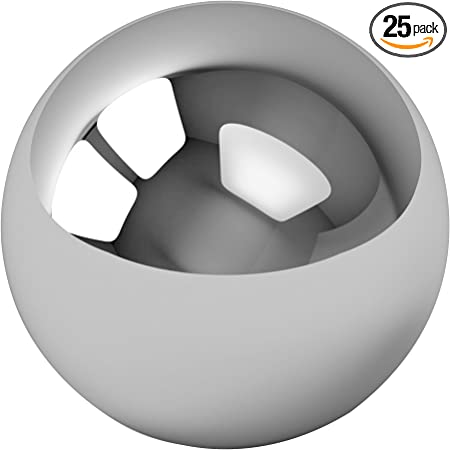 """25 7//32/"""" Inch G25 Precision 440 Stainless Steel Bearing Balls"""