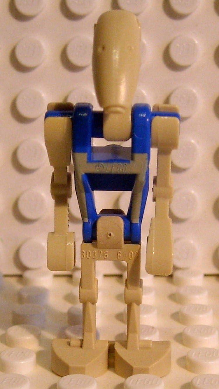 LEGO Star Wars - Minifigur Battle Droid Pilot mit blauem Rumpf