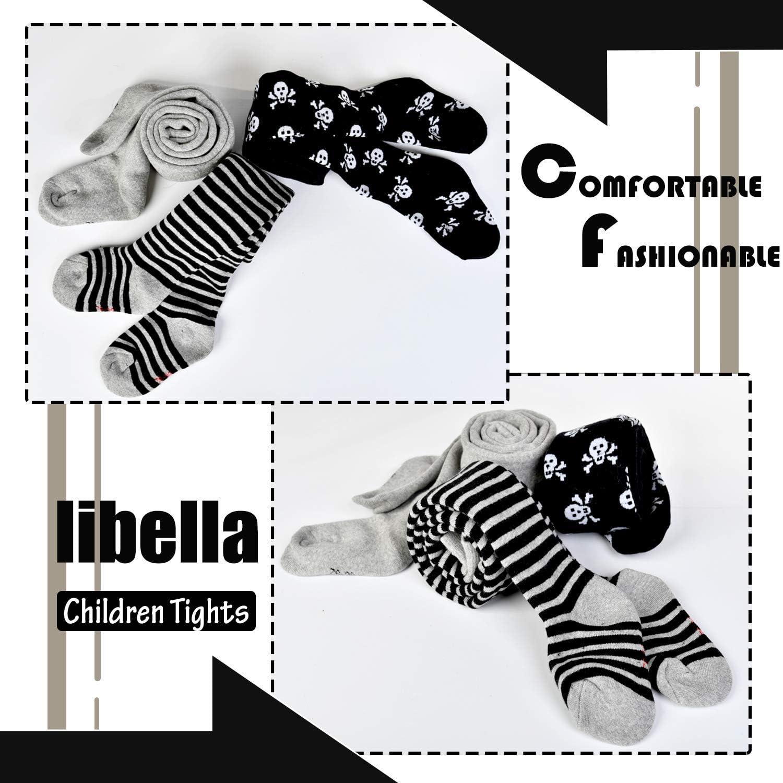 Libella 3//6er Pack Kinder thermo Strumpfhose Baby Jungen Strick Frottee Baumwollmischung mehrfarbig 27248
