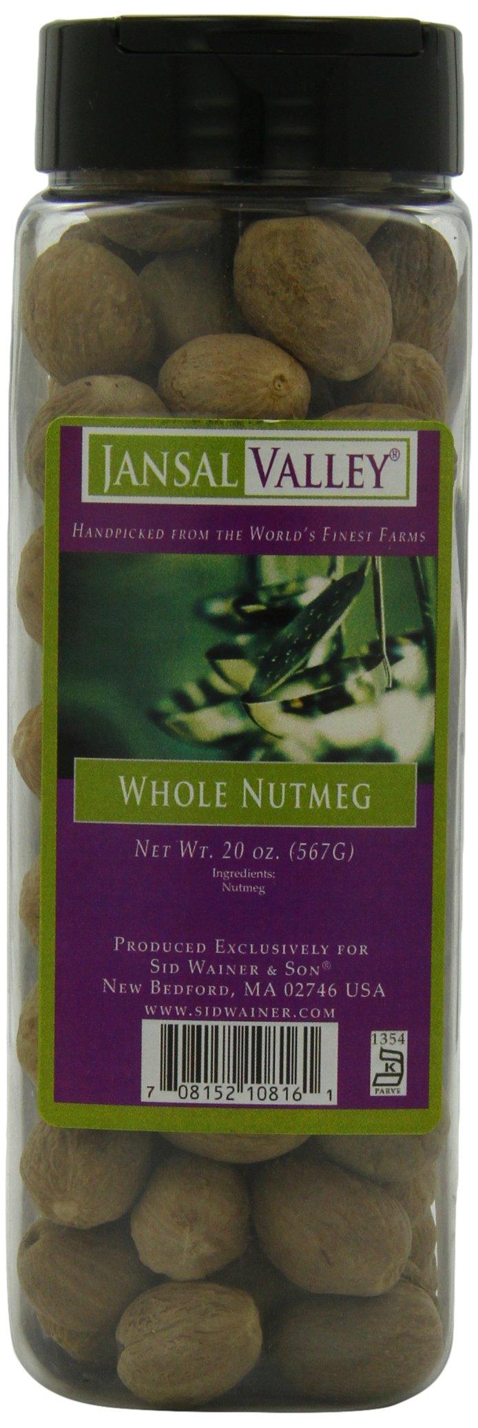 Jansal Valley Whole Nutmeg, 20 Ounce