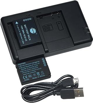 Cargador para Panasonic Lumix DMC-ZS9 DMC-ZS10 DMC-ZS15 DMC-ZS20 DMC-ZX1 DMC-ZX3
