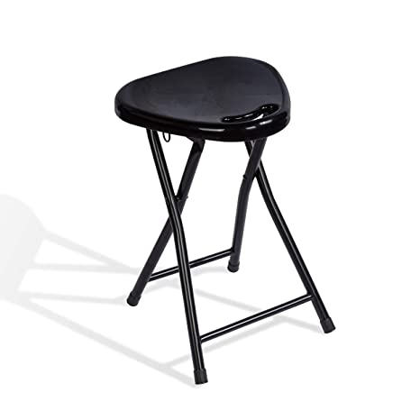 Terrific Atlantic 4 Pack Folding Stool With Handle Black Pabps2019 Chair Design Images Pabps2019Com