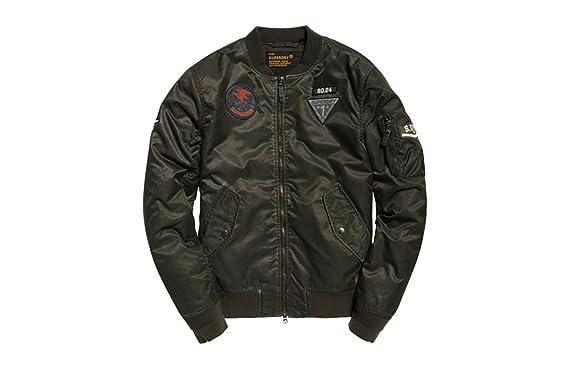 e95fb342b4651 Superdry Limited Edition Flight Bomber Jackets  Amazon.co.uk  Clothing