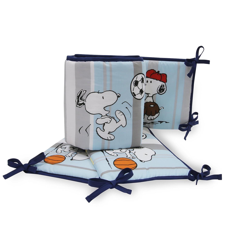 Bedtime Originals Snoopy Sports Bumper Lambs & Ivy 252002B