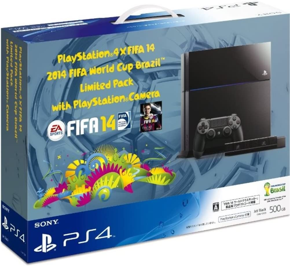 PlayStation 4×FIFA 14 2014 FIFA World Cup Brazil Limited Pack with ...