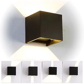 12w Led Wandleuchte Innen Aussen Modern Wandbeleuchtung Mit