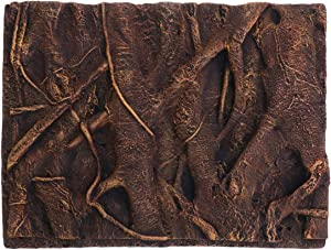 Balacoo 3D Foam Rock Reptile Background Aquarium Background Rain Forest Tree Roots Fish Tank Decorations (Brown)
