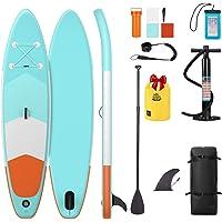 DEERFAMY Stand Up Paddle Board Inflatable w/Dry Bag Bonus