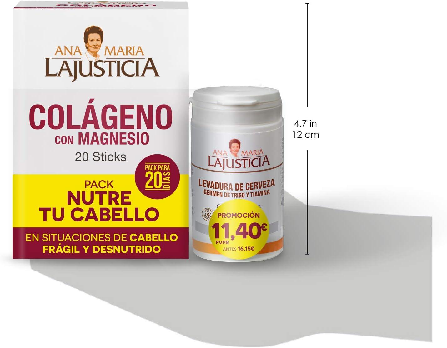 Ana Maria Lajusticia – Pack NUTRE TU CABELLO – Colágeno con ...