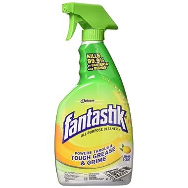 Fantastik Scrubbing Bubbles Lemon Power All Purpose Cleaner, Trigger Bottle, 32 Oz (3 Pack)