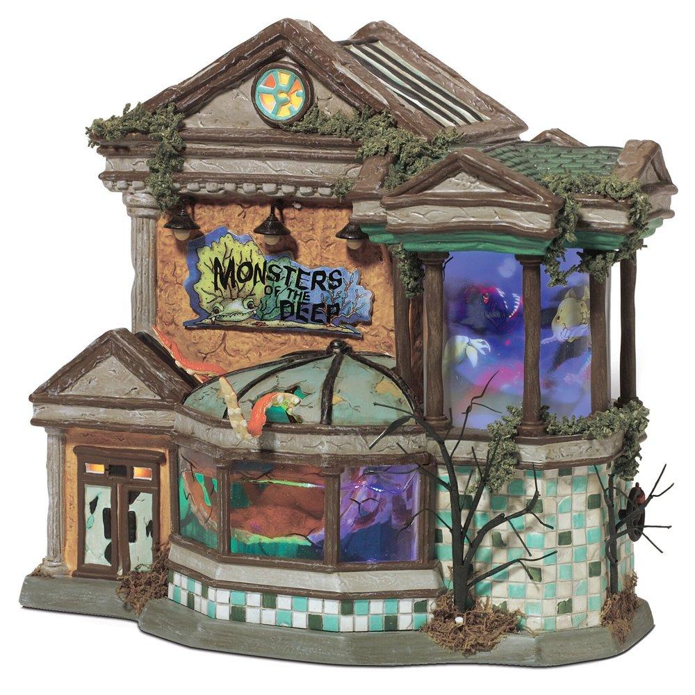 Amazon.com: Department 56 Snow Village Halloween Monsters of the ...