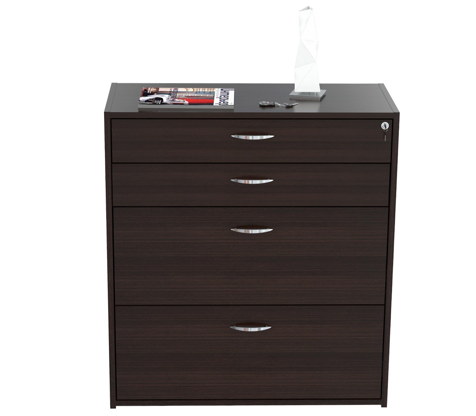 Inval America B2AR-2705 4 Drawer Storage/Filing Cabinet by Inval America (Image #5)