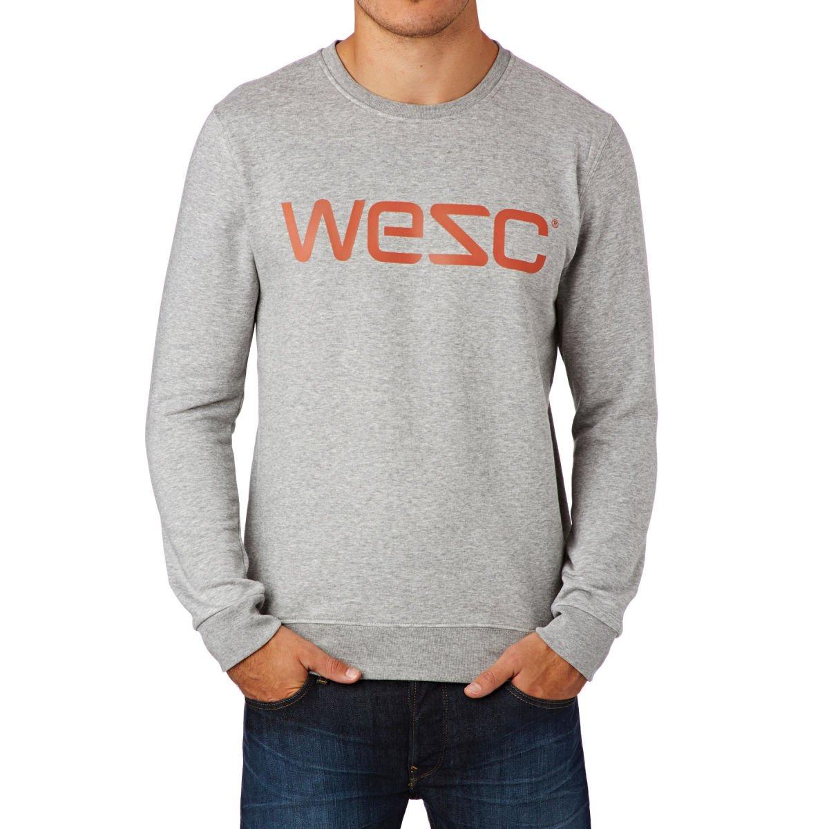 WESC - Sudadera para Hombre, Hombre, Sweatshirt, Gris, L: Amazon.es: Deportes y aire libre