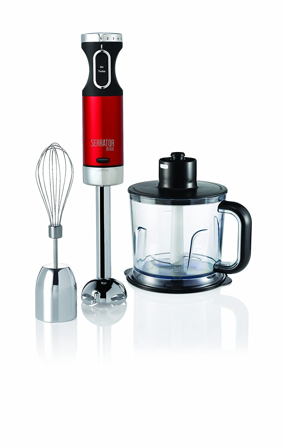 Morphy Richards 402010 Accents Hand Blender Set with Serrator Blade ...