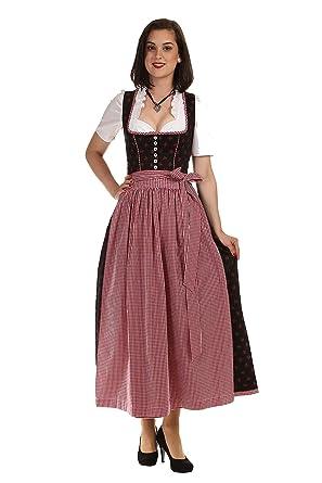 8a70d5c507 Turi Landhaus Damen Dirndl lang D621075 Heidi: Amazon.de: Bekleidung