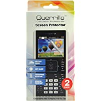 Guerrilla Military Grade Screen Protector 2-Pack For TI Nspire CX, CX CAS, CX II, and CX CAS II Graphing Calculator