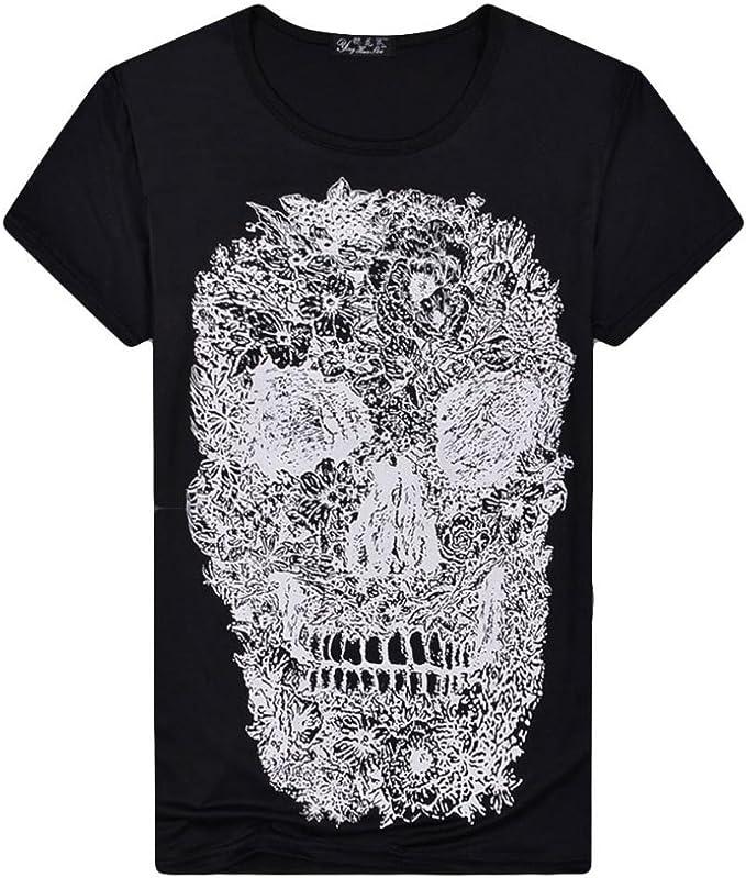 Camiseta para Hombre, RETUROM Camisa de Manga Corta de la ...