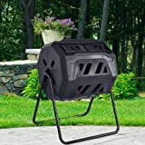SPP12 43 Gallon Organic Black Cask Compost Bin