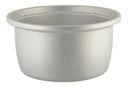 Panasonic Aluminum Cooking Pot For 1 Litre Cooker, Silver Pot & Pan Sets at amazon