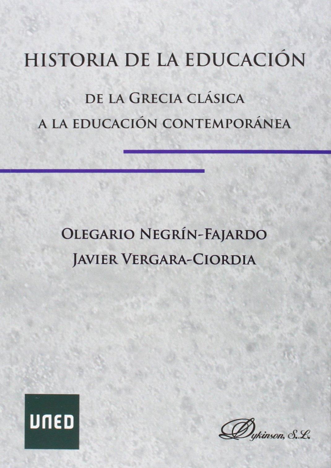Historia de la Educación. De la Grecia Clásica a la ...