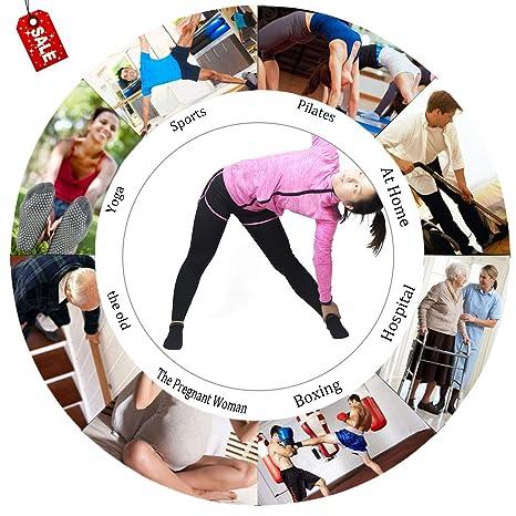 Amazon.com: Grips - Calcetines antideslizantes para pilates ...