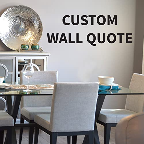 Custom Wall Quote Decal Custom Quote Decal Create Your Own Wall Quote Wall & Amazon.com: Custom Wall Quote Decal Custom Quote Decal Create Your ...