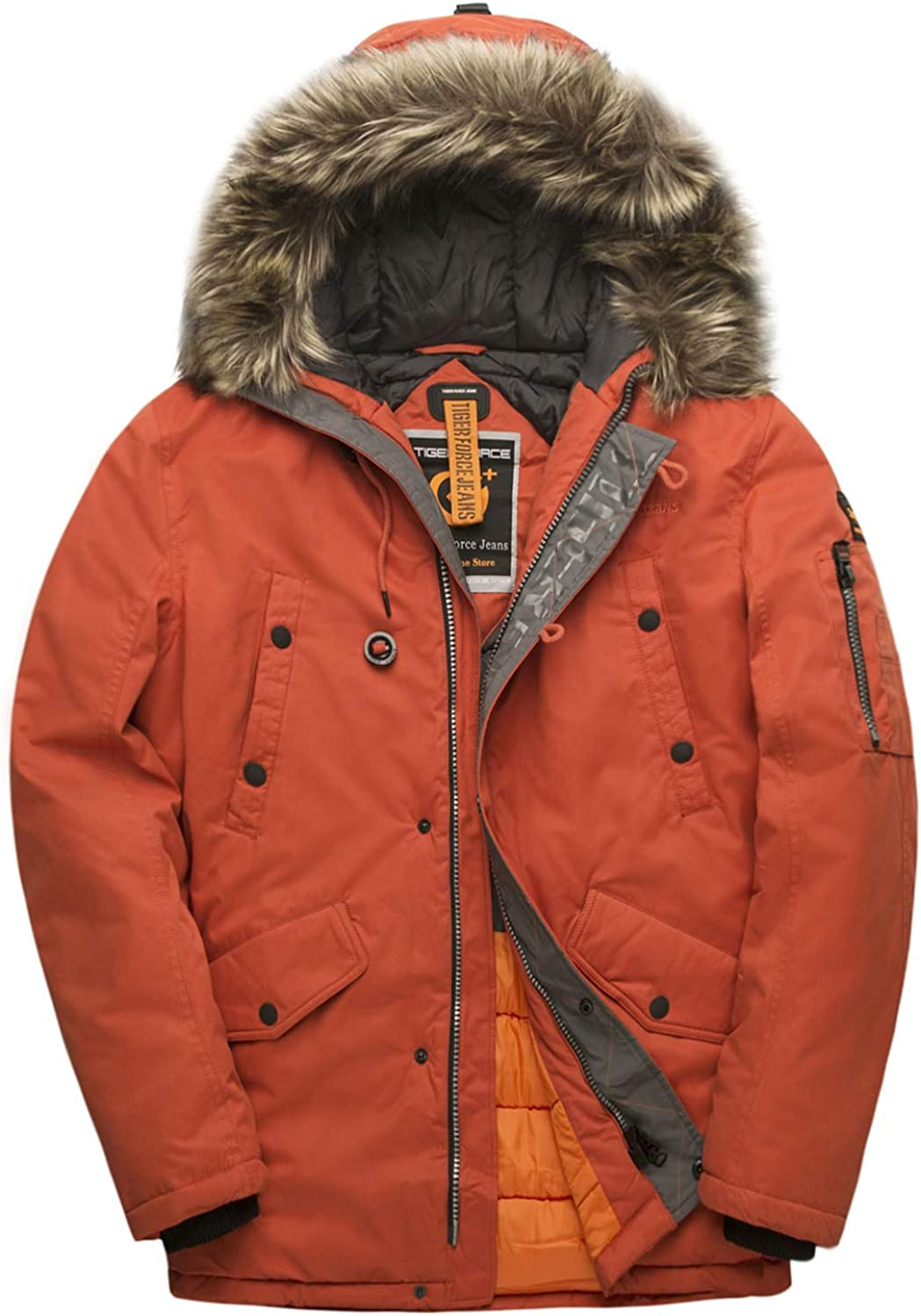 Headgear Mens Tundra X Hooded Jacket