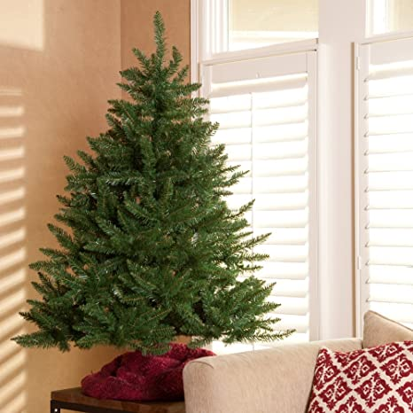buy popular 46ec3 feae4 Classic Tabletop Unlit Christmas Tree - 4.5 ft.