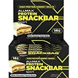 ALLMAX Nutrition - Protein Snack Bar - Sport - White Chocolate Peanut Butter,Box of 12