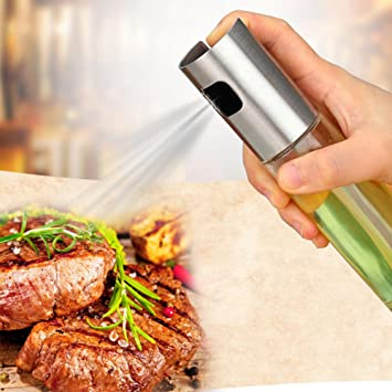 Spray de aceite de vidrio, dispensador de botellas vacío para ...