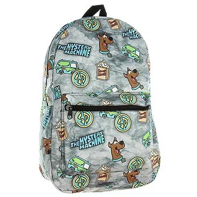 Scooby Doo Backpack Mystery Machine Gang Print | Kids' Backpacks
