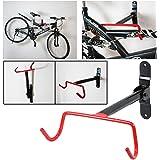 Safekom Heavy Duty Garage Wall Mounted Bicycle Bike MTB Storage Rack Stand Hook Holder & Fitting Screws